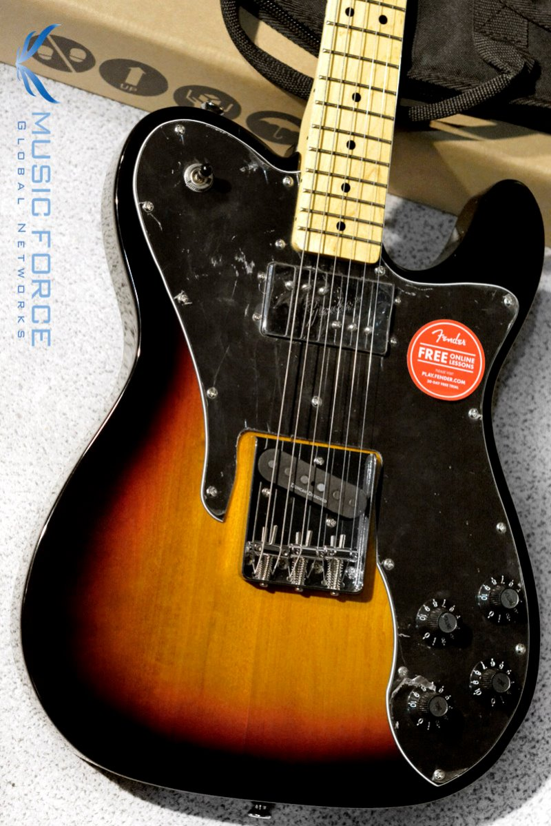 Squier Vintage Modified Telecaster Custom-3TSB w/Maple FB (2018년산/신품)