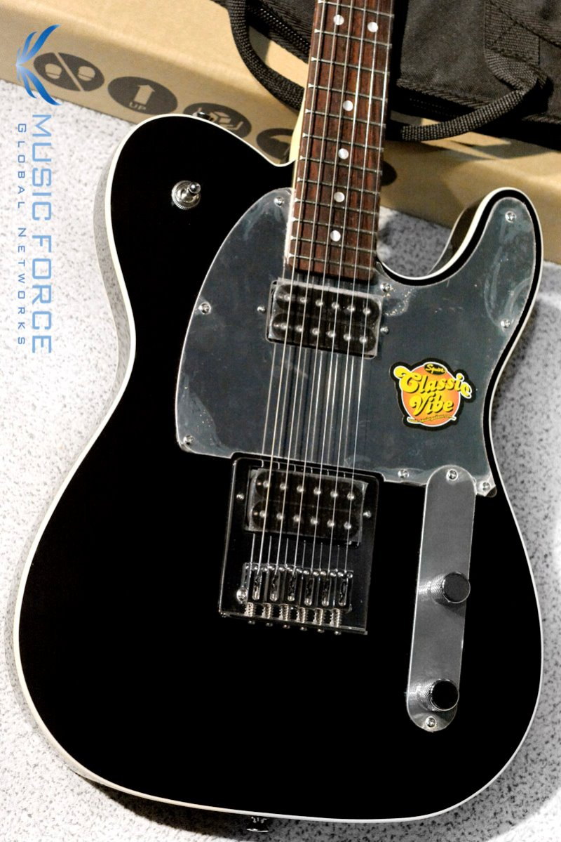 Squier J5 Telecaster-Black w/Rosewood FB (2017년산/신품)