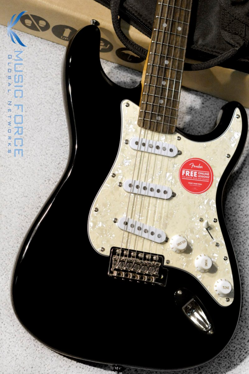 Squier Classic Vibe 70s Stratocaster SSS-Black w/Indian Laurel FB (2019년산/신품)